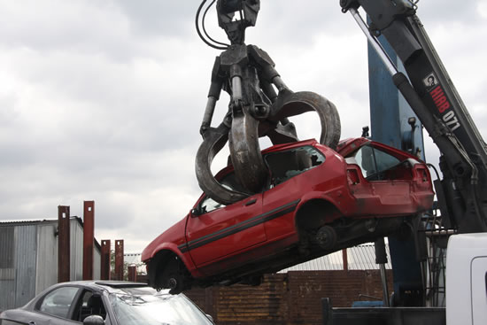 used car removal