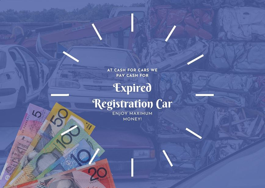 Sell expired registration car