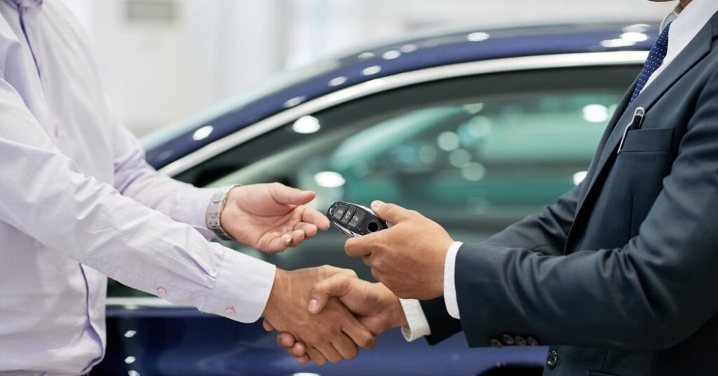 buying used car scratches