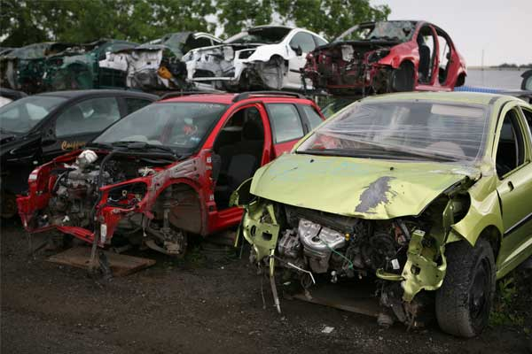 how to scrap a car for cash